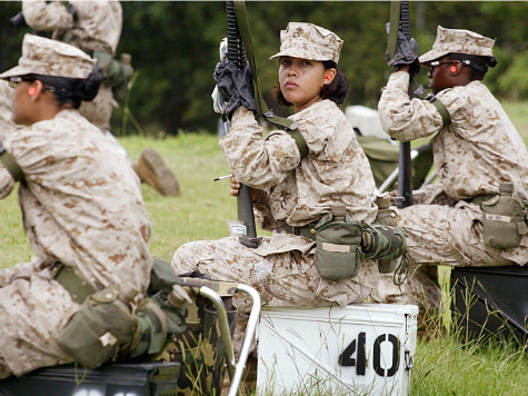 USMC to Create 'Experimental Task Force' to See if Women Can Handle Combat