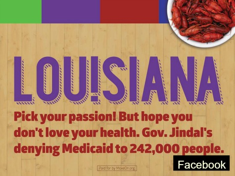 Louisiana Suing Left-Wing MoveOn.Org for Anti-Jindal Billboard