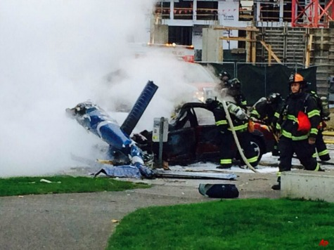 News Helicopter Crashes Near Space Needle, 2 Dead