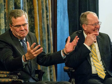 Sen. Lamar Alexander Says 'No National School Board' After Promoting Common Core with Jeb Bush