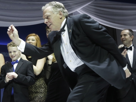 Terry McAuliffe: Great at Partying, Not So Great at Governing