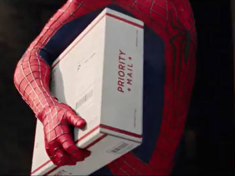 Struggling Postal Service Recruits Spider-Man for Ad Campaign