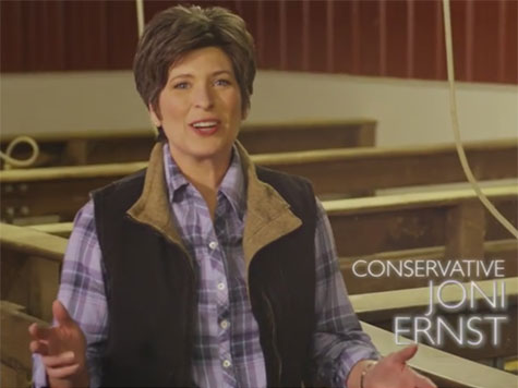 Sarah Palin Endorses Joni Ernst for U.S. Senate in Iowa