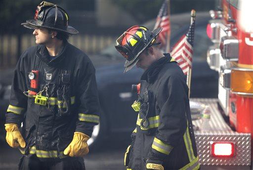 Two Firefighters Die in Smoky Boston Brownstone Fire