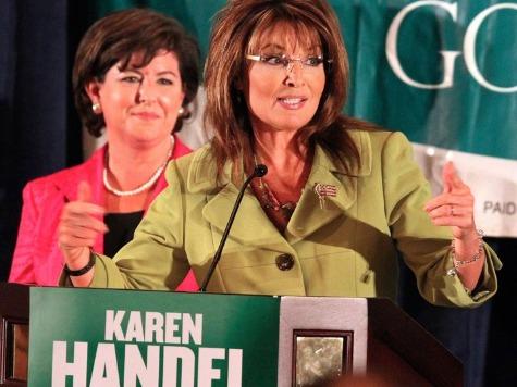 Sarah Palin Endorses Georgia 'Champion' Karen Handel for U.S. Senate