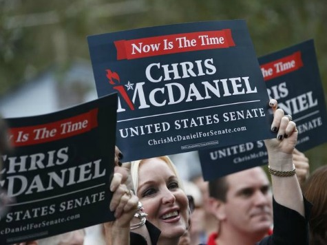 Tea Party Momentum Builds Around McDaniel in Mississippi GOP Senate Primary