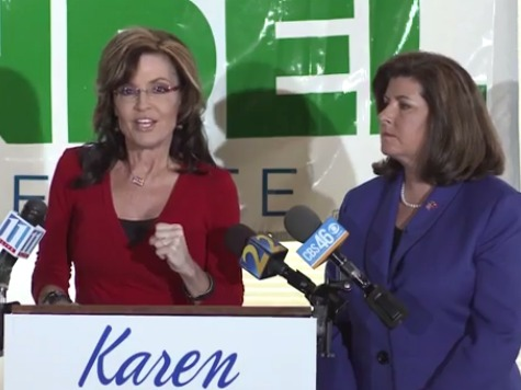 Sarah Palin Blasts GA GOP Sen. Candidate for Mocking People Who Don't Have College Degrees