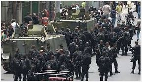 Brazil Military Storms Ghetto near World Cup