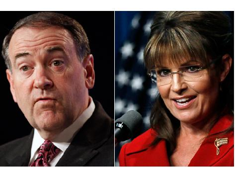 Palin and Huckabee Back Different Candidates in Oklahoma GOP Senate Primary