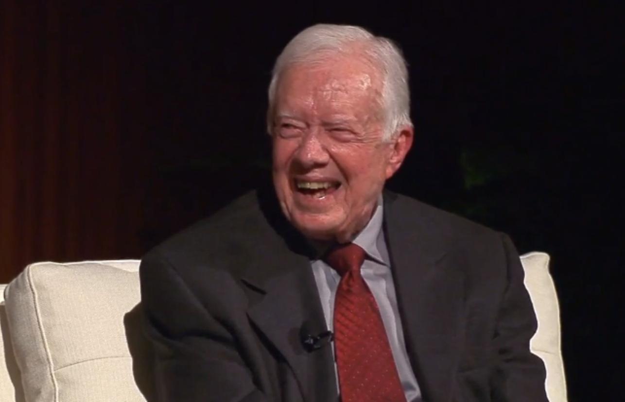 Jimmy Carter Boasts Visits to North Korea, Cuba and Hamas