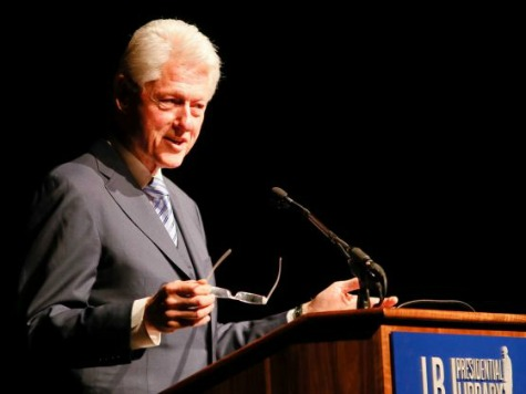 Bill Clinton Points Out Gloomy State of Economy Under Obama