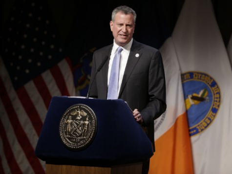 Mayor De Blasio Uses 'Progressive' More Than 20 Times in 100th-Day Speech