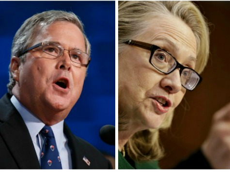 The Worst Argument Ever For Jeb Vs. Hillary