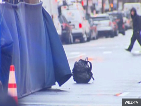 Street Evacuated as Two Backpacks Discovered Near Boston Marathon Finish Line
