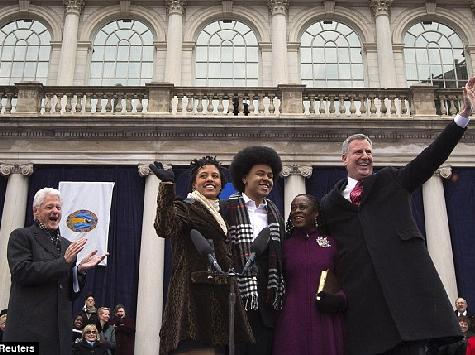 Activists Attack Bill de Blasio for Lack of Staff Diversity