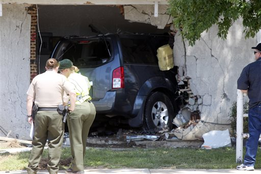 Sleeping Girl Killed After Car Drives into Home