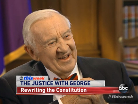 Former Justice Stevens: Revising the 2nd Amendment 'Is a Moderate Proposal'