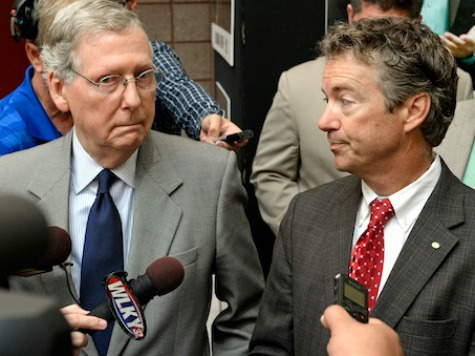 Mitch McConnell Praises Rand Paul for Not Attacking Fellow Republicans