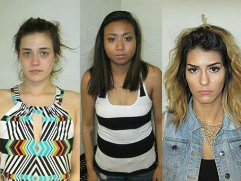 Three Women Arrested While Twerking in City Hall Parking Lot