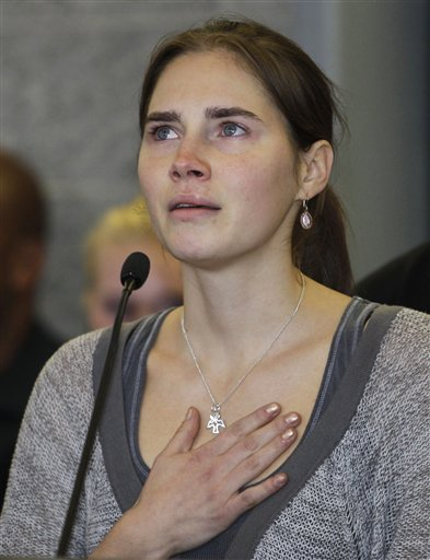 Italy Court: Knox Struck Mortal Blow in Killing