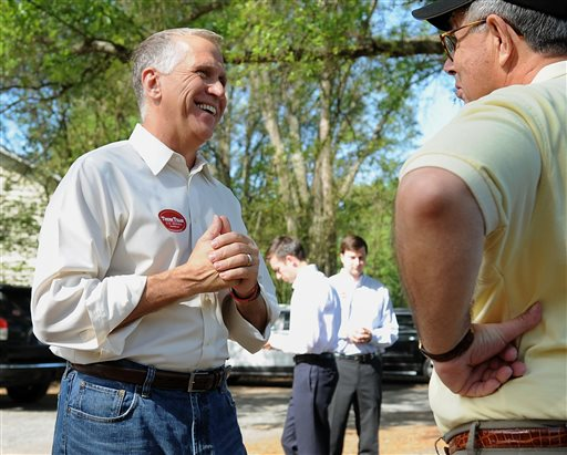 GOP's Thom Tillis Leads Tea Party Challengers in NC Senate Primary
