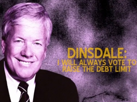 Exclusive: Citizens United TV Ad Assails Sid Dinsdale for Vowing to Always Raise Debt