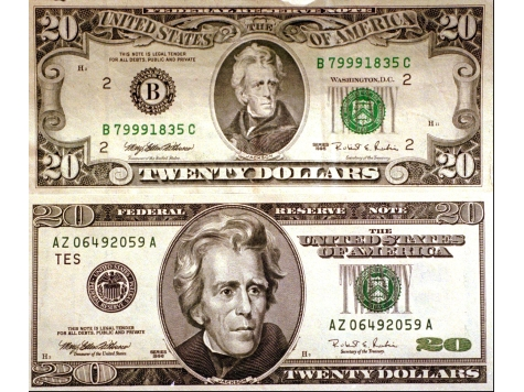 Millions of US $20 Bills Counterfeited, Scammer Says 'Screw You,' America