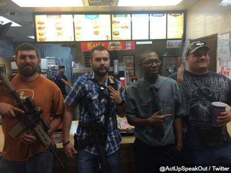 Jack in the Box Would 'Prefer' Guests Not Bring Guns Inside Restaurants