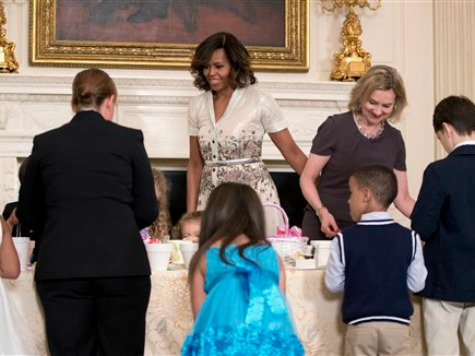 First Lady Michelle Obama Praises Own Mom at Mother's Day Event