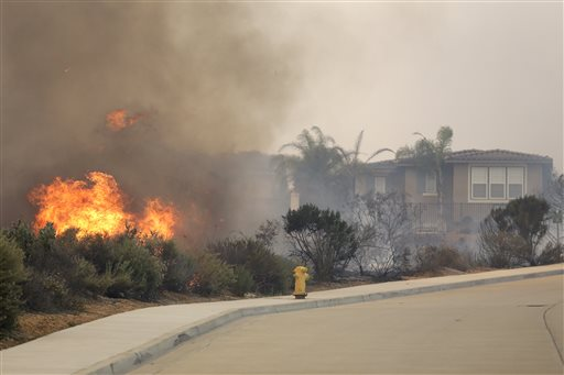30 Homes Burn in San Diego County