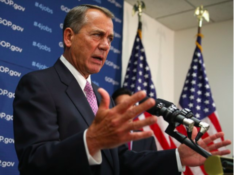 Boehner 'Certainly Has Concerns' About Criminal Immigrant Releases