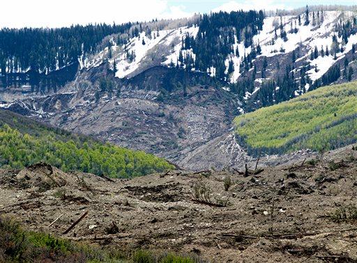 No sign of 3 men missing in Colorado slide