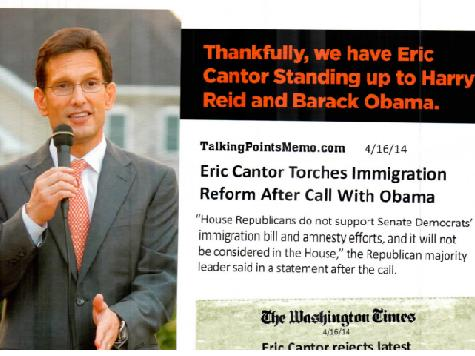 Cantor Primary Challenger David Brat: Anti-Amnesty Mailer 'Act Of A Desperate Campaign'