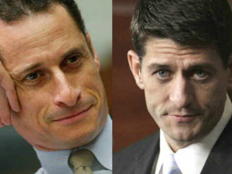Paul Ryan Says He Gets Mistaken for Other Politicians Including Anthony Weiner and Scott Walker