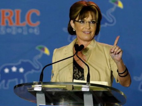 Sarah Palin: At This Rate, Soldiers Will Have to Trade 'Fatigues for Mom Jeans' in Obama's Military