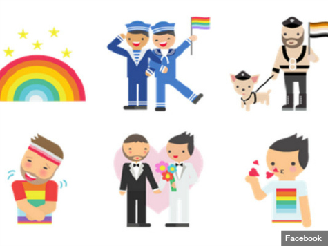 Facebook Releases 'Pride' Emoticon Pack for LGBT Users