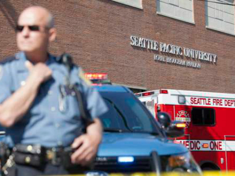 One Shot Dead at Seattle Pacific University: Security Guards Not Allowed to Carry Guns