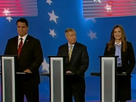 Polite Criticism of Lindsey Graham at South Carolina GOP Senate Debate But No Fireworks