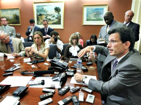 Cantor's Availability to Capitol Hill Reporters May Have Damaged VA GOP'er