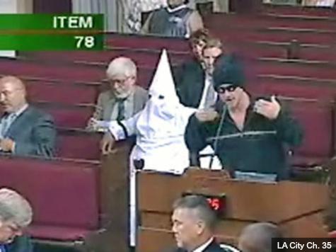Los Angeles Man's KKK Hood Stunt Earns Him a Cool $215,000