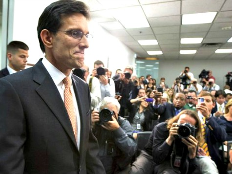 Poll: Tea Party, Anti-Amnesty Voters Ousted Eric Cantor