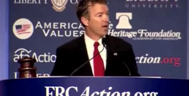 Rand Paul: There Is a War against the Unborn