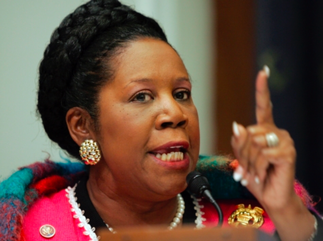 Sheila Jackson Lee Brings Lollipops to Illegals, Says Border Crisis Not National Security Threat