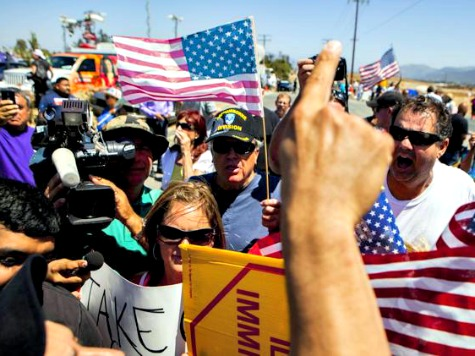New York Times: Ugly for Americans Against Illegal Immigration to Wave American Flags, Chant 'USA'