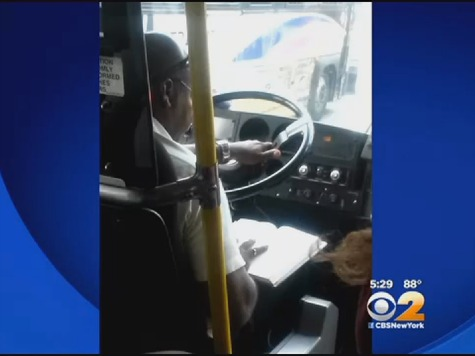 New Jersey Transit Bus Driver Allegedly Caught Reading While Driving
