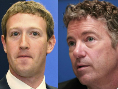 Rand Paul Meets Privately with Mark Zuckerberg