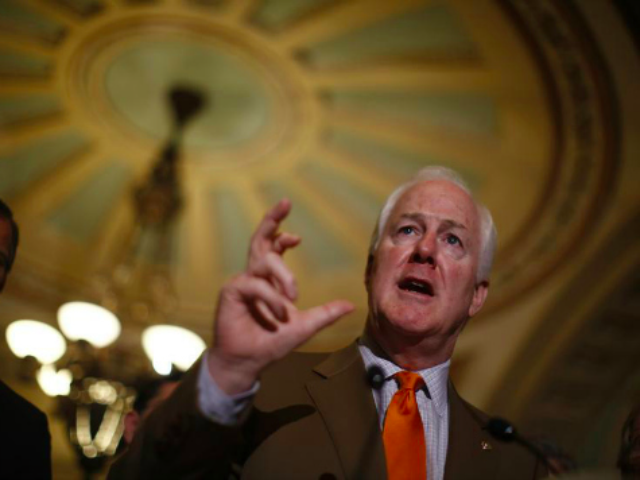 Cornyn Teams Up With Dem Obama Critic On Border Bill