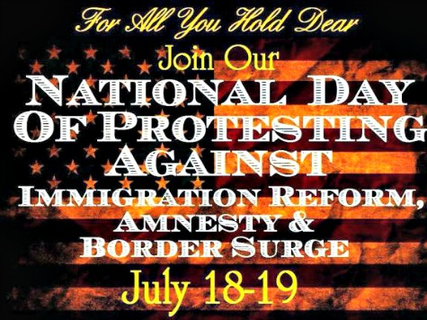 Protests Held Across US Against Obama's Disastrous Immigration Policies