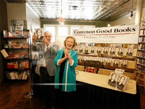 Hillary Clinton in 'Top One-Hundredth of the 1 Percent'