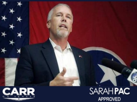 Sarah Palin Endorses Joe Carr for Senate Against Lamar Alexander